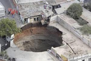 patología geotécnica - sinkhole