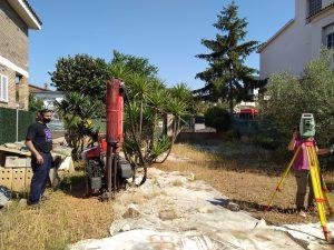 Estudio geotécnico vivienda Barberà del Vallès